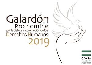 Galardon Pro Homine 2019